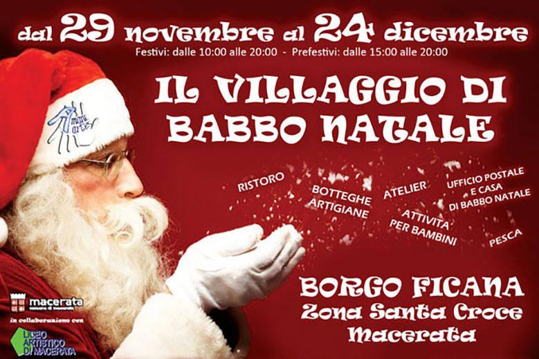 il villaggio di babbon natale borgo ficana 2013
