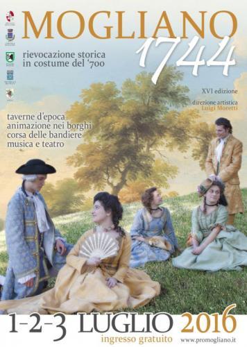 rievocazione storica mogliano 1744
